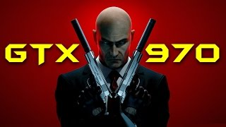 Hitman: Absolution | GTX 970 OC | 1080p & DSR - 1440p & 2160p | FRAME-RATE TEST