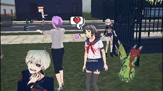 Zombies! | School Girl Simulator | I'm zombie!