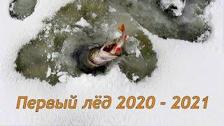 ПЕРВЫЙ ЛЁД 2020 2021 ОПАСНО НО ОТКРЫЛИСЬ УДАЧНО THE FIRST ICE 2020 2021 DANGER