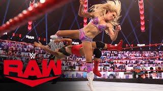 Charlotte Flair vs. Lacey Evans: Raw, Feb. 8, 2021