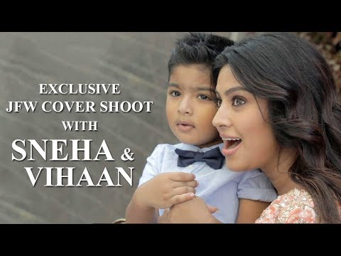 JFW Photo Shoot with Sneha Prasanna and Vihaan  | Behind the Scenes | May'18 Edition thumbnail