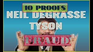 10 Proofs Neil deGrasse Tyson is an UNINTELLIGENT FRAUD