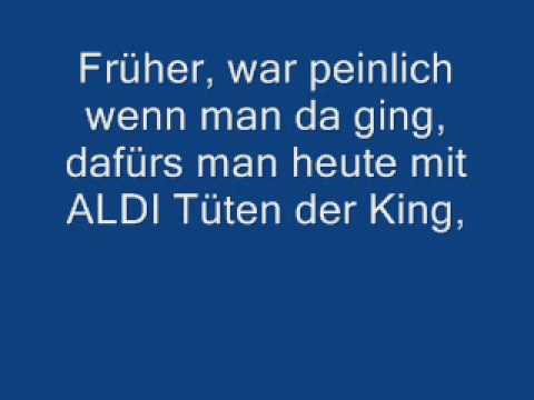 Aldi-Song mit Songtext