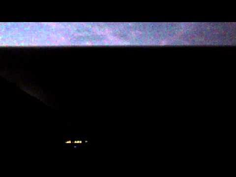 Heat Lightening Storm in Geneva, Switzerland: Strobe Light Symphony in The Sky