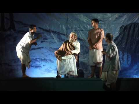 Premiere of Soumitro Chatterjee's play Boshtomi at Indian Museum