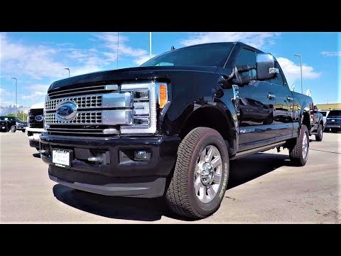 2019 Ford F-250 Platinum FX4 Power Stroke: The Most Capable 250 Yet!
