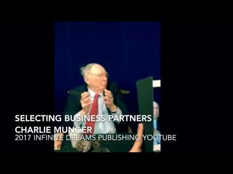Evaluating Business Partners & Owners - Charlie Munger Interview 2017