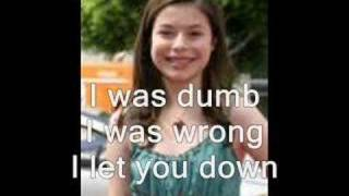 Miranda Cosgrove (about you now) with lyrics