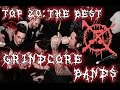 Top 20: The Best Grindcore Bands