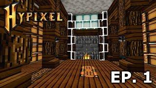 Rebuilding my Hypixel Skyblock Island - Storage Room (Ep  1)