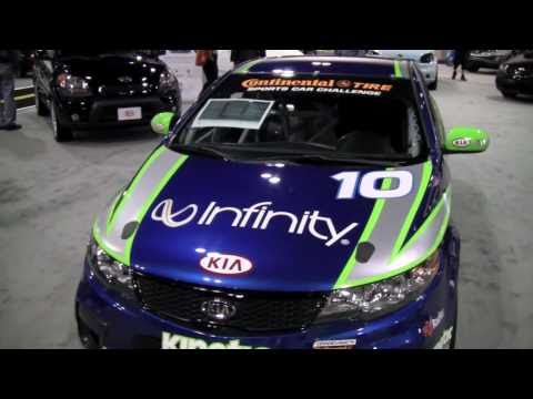 Kia Forte Koup Street Tuner Race Car First Look Youtube