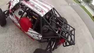 Losi DBXL 23cc versus DDM 29cc Head kit modded engine