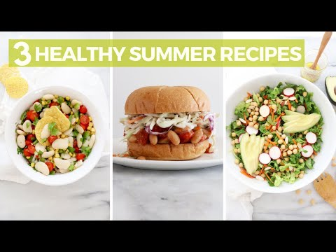 Easy And Healthy Recipes For Summer! Gluten-Free, Dairy-Free & Delicious!