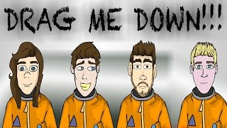 Video One Direction - Drag me down (CARTOON PARODY) download MP3, 3GP, MP4, WEBM, AVI, FLV Agustus 2017