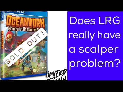 Does Limited Run Games Really Have A Scalper Problem For PS Vita Games?