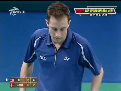 2010 BWF Super Series Final Men single Final