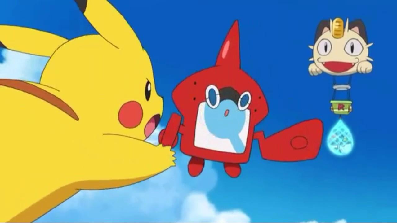 Pokémon Sun & Moon Pikachu Iron Tail - YouTube
