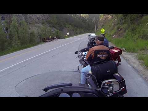 Black Hills Motorcycle Trip