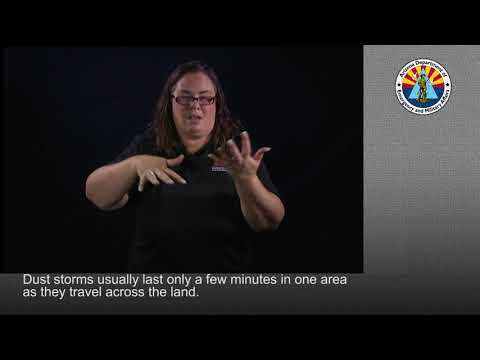 Beca explains how to prepare for one of Arizona's dust storms