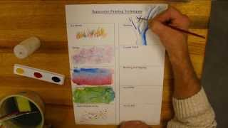 Gambar cover 10 Water color Techniques