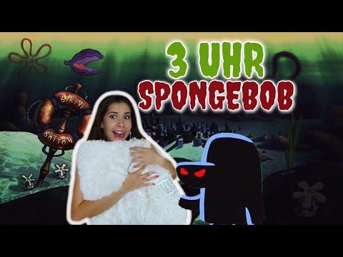(Parodie) - SCHAU NIEMALS UM 3 UHR NACHTS SPONGEBOB!!!! OMG SOO GRUSELIG | Valeria Greb
