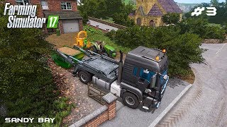 Tree removing service | Sandy Bay 17 | Farming Simulator 2017 | Episode 3