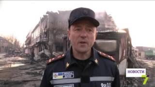 Пожар на базе отдыха в Затоке тушили три часа(, 2016-04-07T11:51:32.000Z)