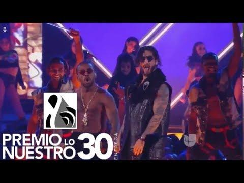 Maluma - Corazón Feat. Nego do Borel (Live at Premio Lo Nuestro 2018)