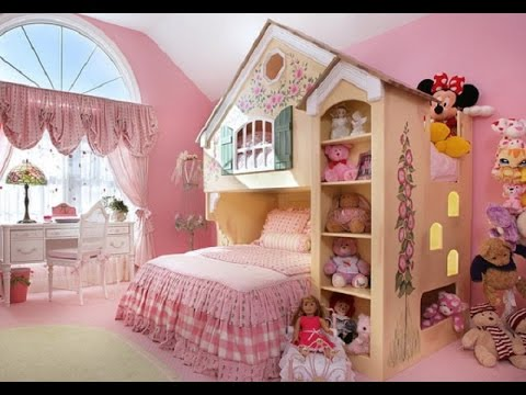 Kids Bedroom Design Ideas For Your Small Baby Girl - YouTube