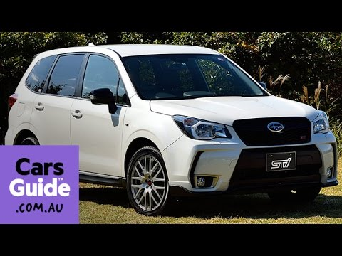 2016 Subaru Forester Ts Review Quick First Drive Youtube