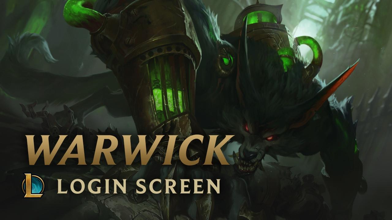warwick the uncaged wrath of zaun login screen league of
