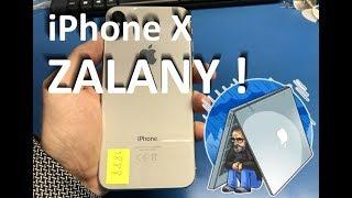 #iPhone X #Zalany - naprawa na live!