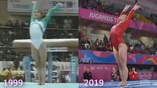 Спортивная гимнастика с разницей в 20+ лет (Спорт №16)