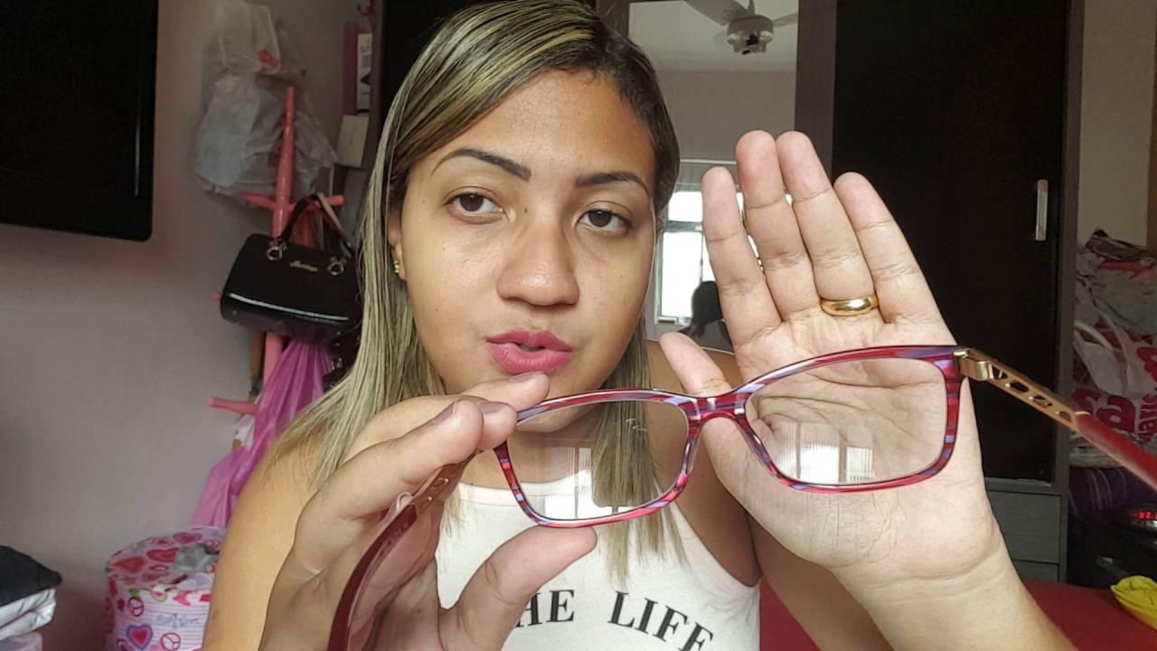 da3d8c188 Novos óculos modelo Ana Hickman e Moda Visual - YouTube