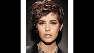 #80. Модные женские прически (короткие, коричневые и русые)