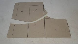 Princess Cut Blouse Cutting In Very Easy Way on Paper (Part-1)
