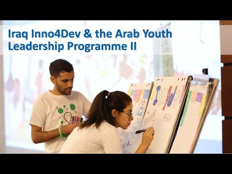 #Youth2030 in Action: Inno4Dev in Iraq & the Arab Youth Leadership Programme II