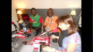 Steven Lavon, envoyé spécial Africa Top Sports, de passage dans Radio Foot International