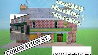Minecraft: How to Build The Rovers Return from Coronation Street
