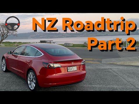 Day 2, Tesla Model 3 Taupo To Wellington