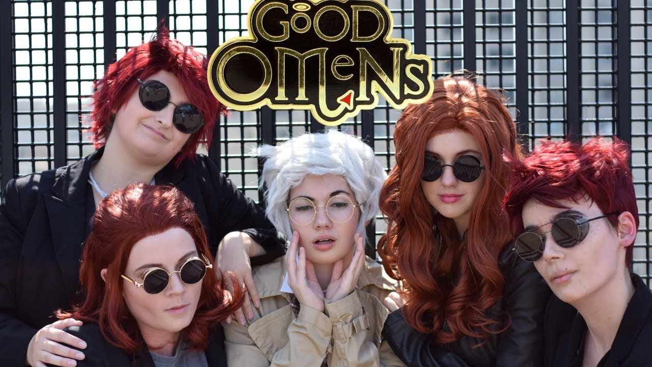 Good Omens Cosplay Crack (Ineffable Husbands)