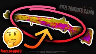 THE FIRST WW2 ZOMBIES PACK A PUNCH STYLE CAMO & HOW TO GET IT!