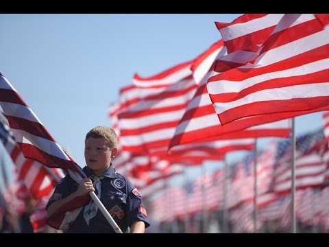 Tennessee Legion Post Leads Community Field Of Flags