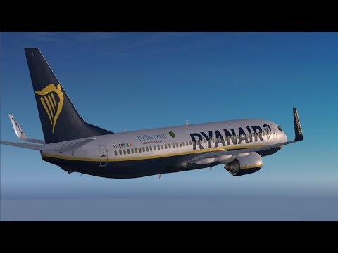 ''Vectors to Copenhagen'' Dublin-Copenhagen-Edinburgh PMDG Boeing737 EI-EFC  *Vatsim*