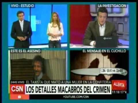 C5N - Policiales: Los detalles macabros del crimen de la mujer en la confiteria de Caballito
