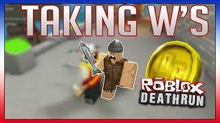 ROBLOX Death Run - I TAKE W'S FOR THE EZYARMY!!
