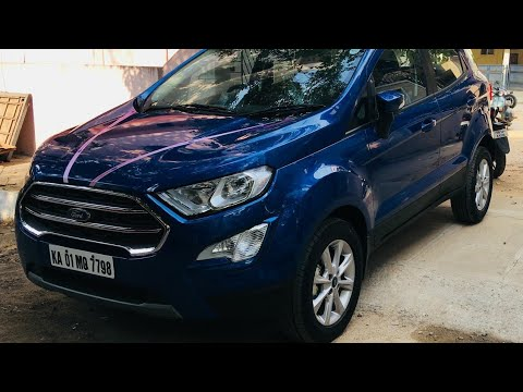New Ford Ecosport Available In Seven Different Colour Options In India