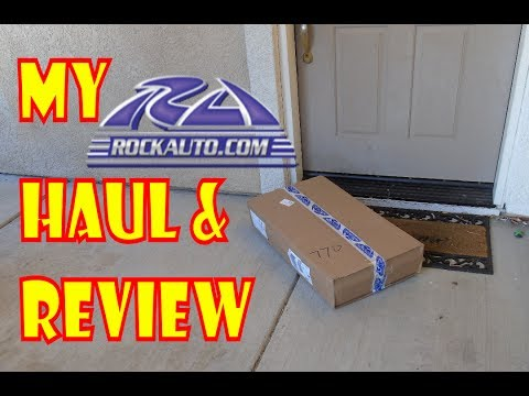 My Rockauto haul and review