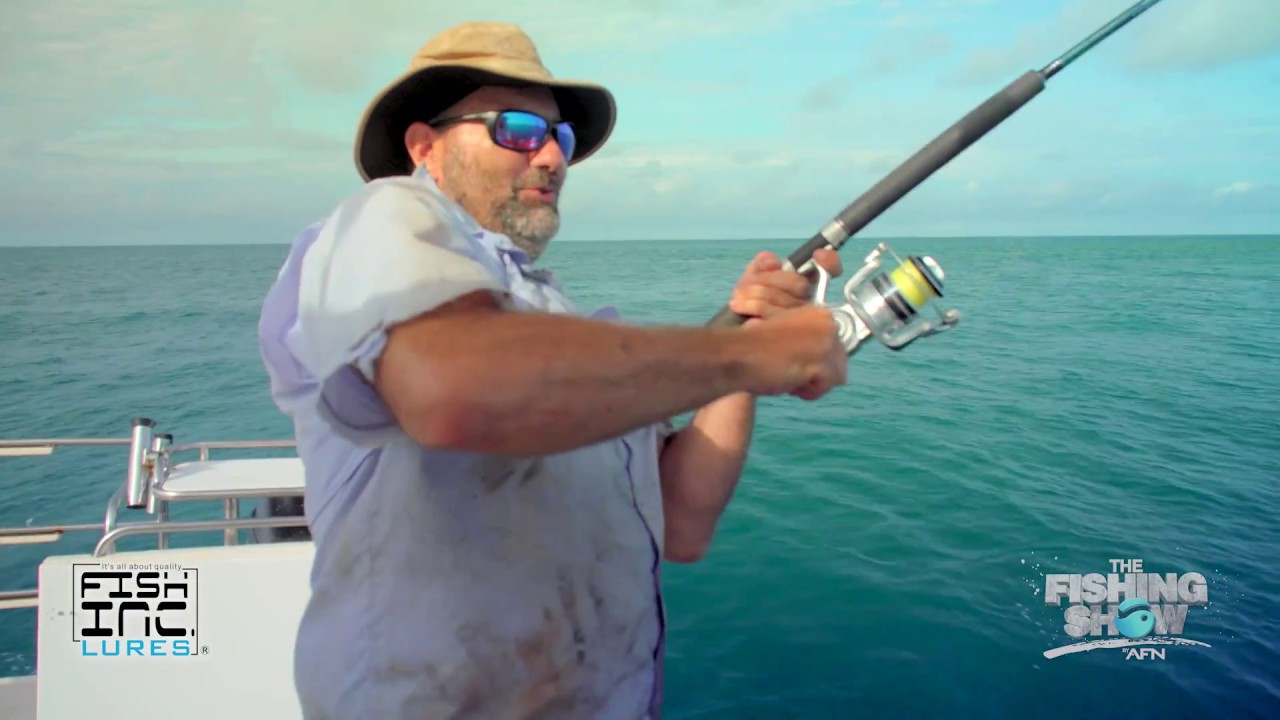 FISH INC  SHORE & OFFSHORE CASTING TOPWATER SINKING