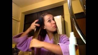 Clareando o cabelo com Biondina! Parte I   Lívia Lima